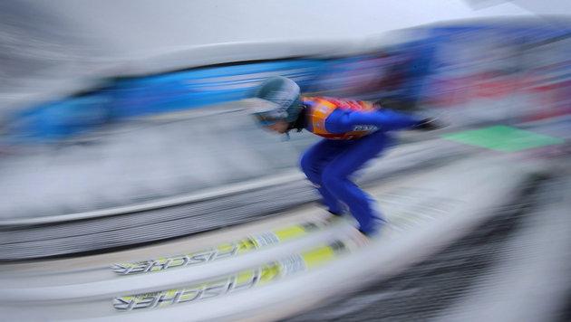 Schlieri Vierter, Kraft auch nach Garmisch Leader (Bild: APA/EPA/Fredrik von Erichsen)
