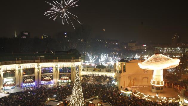 Silvesterpfad: 620.000 Besucher trotzten der Kälte (Bild: Martin A. Jöchl)