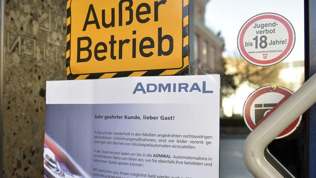 Automatenverbot: Bis zu 60.000 € Strafe drohen (Bild: APA/HANS PUNZ)
