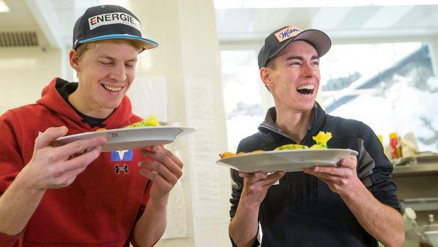 Die ganze Wahrheit über das Essen der Skispringer (Bild: APA/EXPA/JFK)