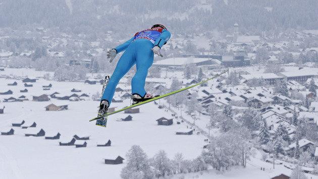 Die ganze Wahrheit über das Essen der Skispringer (Bild: AP)