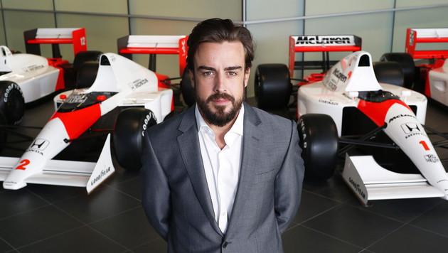 Mercedes: Wenn Hamilton geht, soll Alonso kommen! (Bild: APA/EPA/MCLAREN-HONDA)