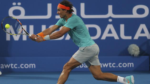 Nadal gelangen beim Comeback nur zwei magere Games (Bild: AP)