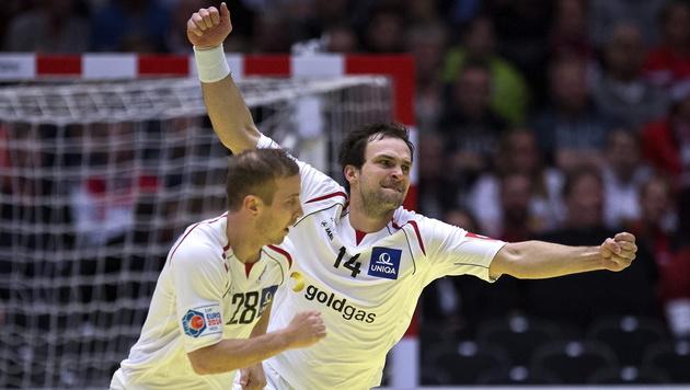Robert Weber und Viktor Szilagyi (Bild: APA/EPA/CLAUS FISKER)