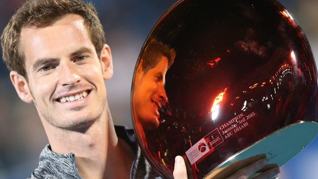 Djokovic gibt w.o. - Murray gewinnt Exhibition (Bild: APA/EPA/ALI HAIDER)
