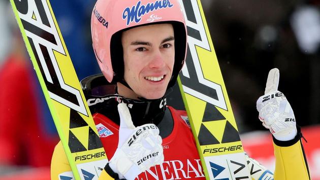 Stefan Kraft (Bild: APA/EPA/Fredrik von Erichsen)