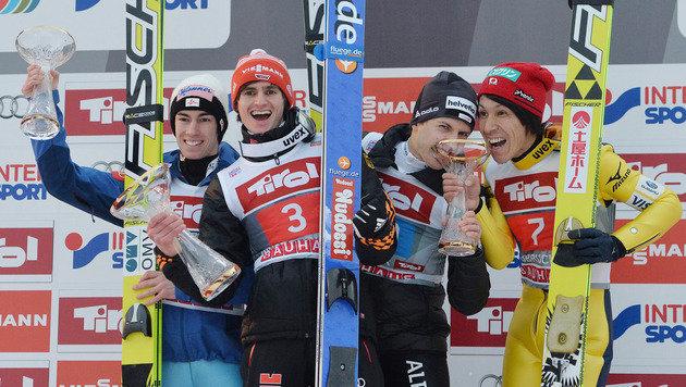 Kraft nach Platz zwei am Bergisel vor Tournee-Sieg (Bild: AP)