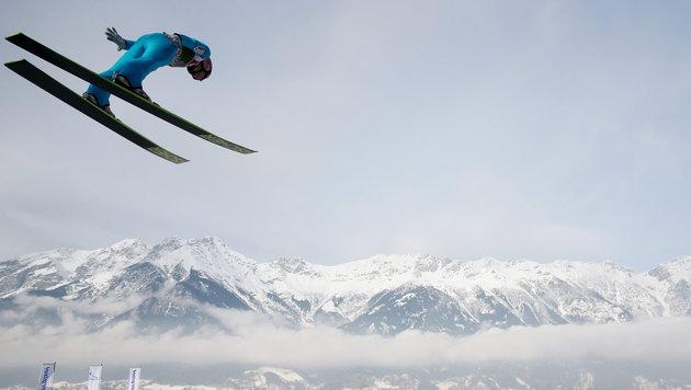 Kraft nach Platz zwei am Bergisel vor Tournee-Sieg (Bild: APA/EPA/Daniel Karmann)