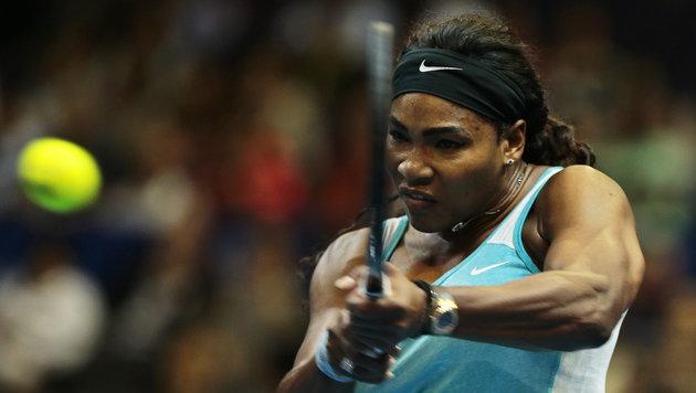 Serena Williams und John Isner! Ein Spitzen-Duo (Bild: APA/EPA/WALLACE WOON)
