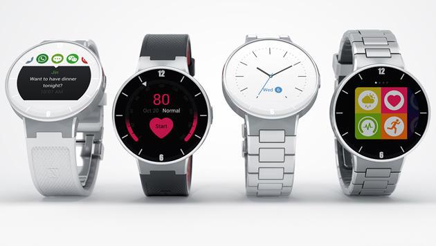 Alcatel kündigt runde Kampfpreis-Smartwatch an (Bild: Alcatel)
