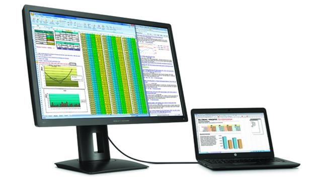 Freunde extrem hoher Bildschirmauflösungen spricht HP mit neuen 4K- und sogar einem 5K-Monitor an. (Bild: HP)