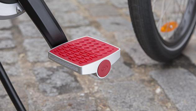 Intelligentes Pedal warnt vor Fahrraddieben (Bild: Connected Cycle)