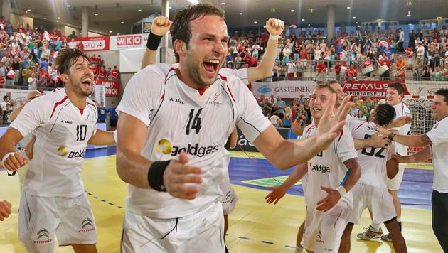 Österreichs Handballer bereit für Wüsten-Mission (Bild: Christof Birbaumer)