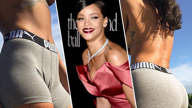 Rihanna: Sexy Oben-ohne-Fotos in Liebestöter (Bild: AFP, instagram.com/mdollas11)