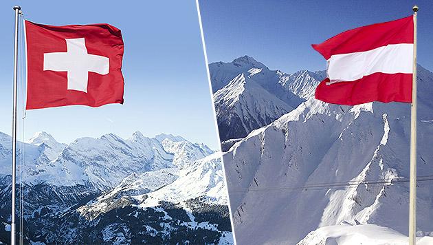 """Schweizer: """"Österreicher sind eben sehr schmalzig"""" (Bild: thinkstockphotos.de, krone.at-Grafik)"""