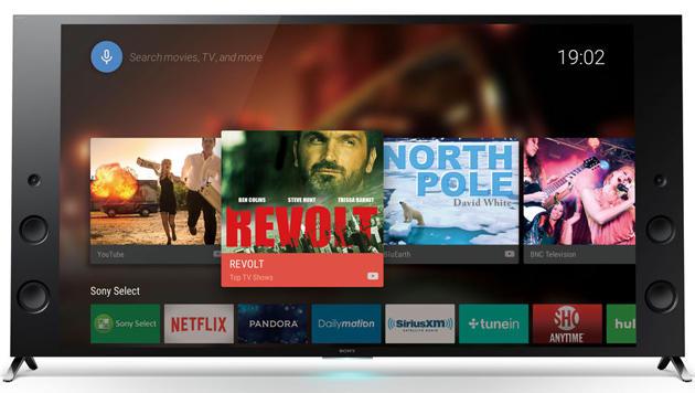 Sonys neue Fernseher sollen dank Android TV besonders vielseitig sein. (Bild: Sony)