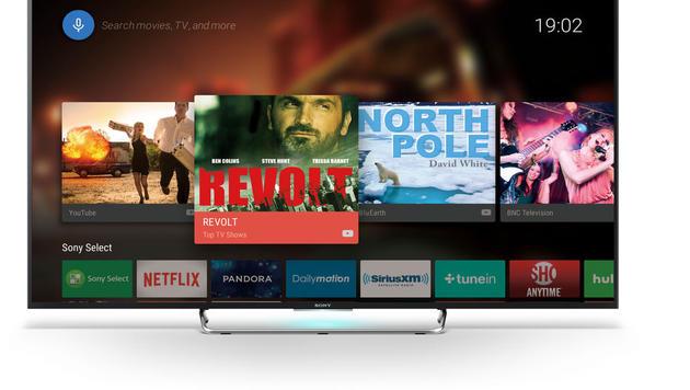 Android TV kommt auch auf die meisten Full-HD-Geräte - etwa die W85C-Serie - der Japaner. (Bild: Sony)