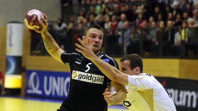 Österreichs Handball-Herren siegen im WM-Test klar (Bild: APA/HERBERT PFARRHOFER)