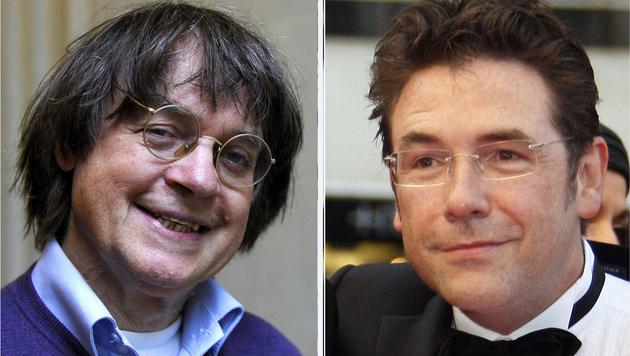Unter den Todesopfern: die Karikaturisten Jean Cabut und Bernhard Verlhac (Bild: AFP)