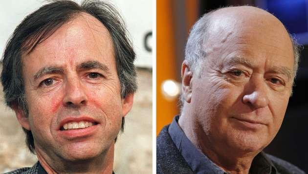 Unter den Todesopfern: Chefredakteur-Stellvertreter Bernard Maris und Karikaturist Georges Wolinski (Bild: AFP)