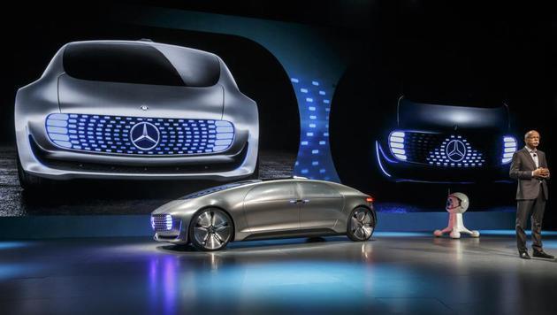 Daimler zeigt Konzept für selbstfahrendes Auto (Bild: Daimler)