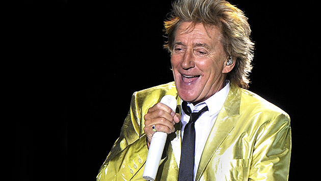 "Der ewige Rock ""n"" Roller Rod Stewart wird 70 (Bild: APA/EPA/HERBERT PFARRHOFER)"