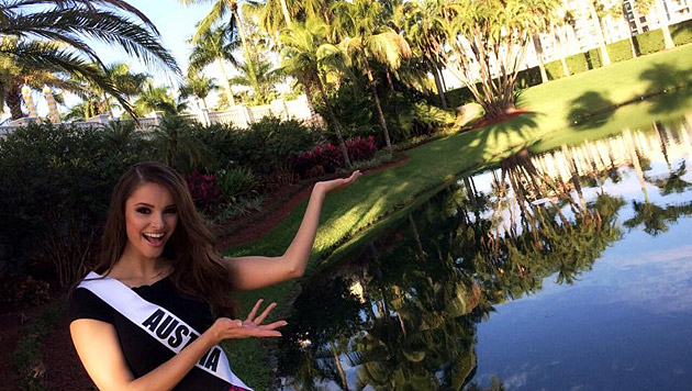 "So residiert die ""Miss Austria"" in Miami. (Bild: Julia Furdea)"