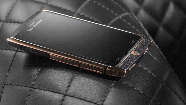 Lamborghini-Sohn zeigt 6.000-Dollar-Smartphone (Bild: Tonino Lamborghini)