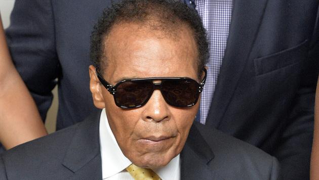 Muhammad Ali aus dem Spital entlassen (Bild: AP/Timothy D. Easley)