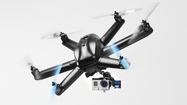 Neue Drohnen folgen Besitzer auf Schritt und Tritt (Bild: hexoplus.com)