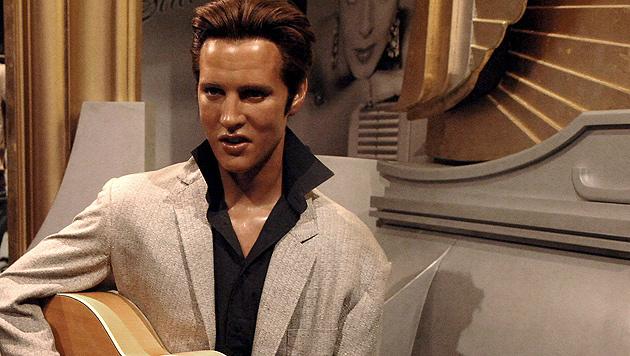 Eine Elvis-Wachsfigur bei Madame Tussauds in London (Bild: Daniel Deme/EPA/picturedesk.com)