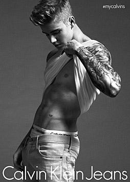 Justin Bieber für Calvin Klein (Bild: Calvin Klein)