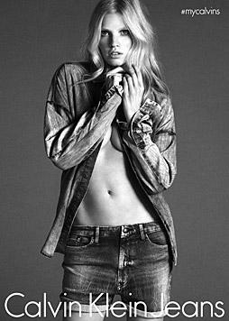 Lara Stone für Calvin Klein (Bild: Calvin Klein)