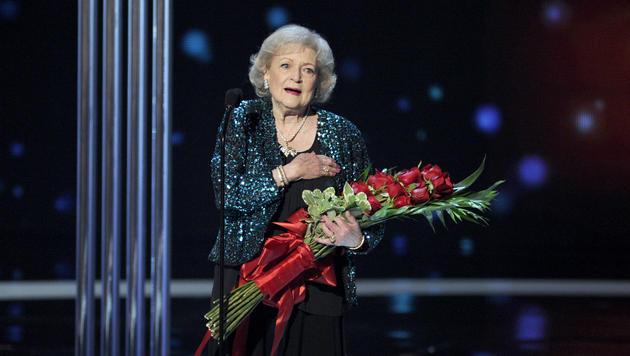 """""""Golden Girl"""" Betty White: Frisch verliebt mit 95 (Bild: Chris Pizzello)"""