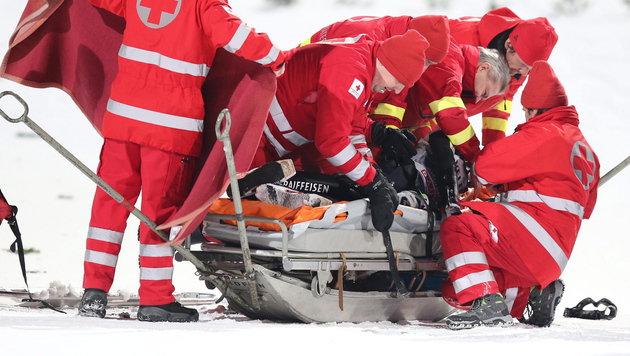 """Ammann-Drama: Schweizer geben """"Ösis"""" die Schuld! (Bild: APA/EPA/DANIEL KARMANN)"""