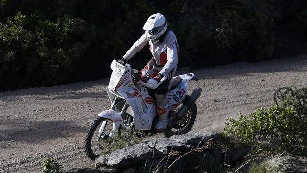 Dakar-Pilot ist verdurstet! Todesursache geklärt (Bild: APA/EPA/FELIPE TRUEBA)