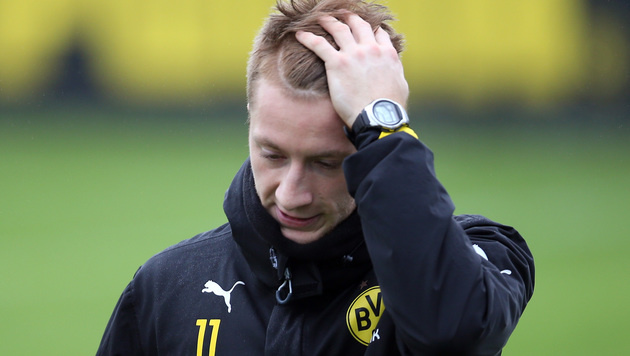 EM-Drama: Marco Reus droht lange Pause! (Bild: AP)