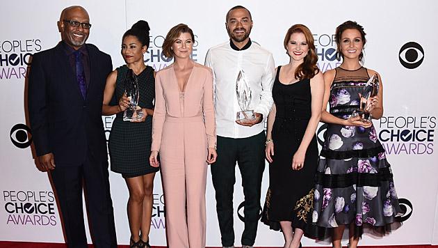Der Cast von 'Grey's Anatomy' (Bild: Chris Pizzello/Invision/AP)