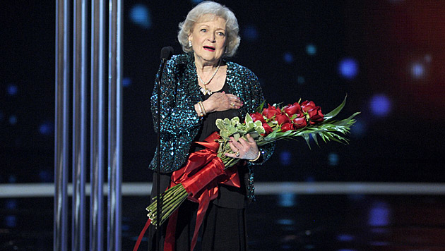 """Golden Girl"" Betty White (Bild: Chris Pizzello/Invision/AP)"