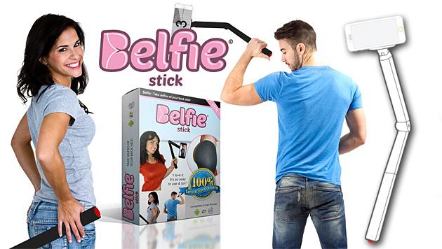 Belfie-Stick soll perfekte Popo-Bilder ermöglichen (Bild: belfiestick.com)