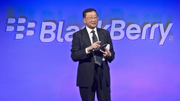Blackberry-Chef will im Smartphone-Markt bleiben (Bild: AP)