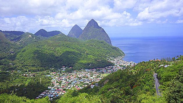 St. Lucia: Sonne tanken in der Karibik (Bild: thinkstockphotos.de)