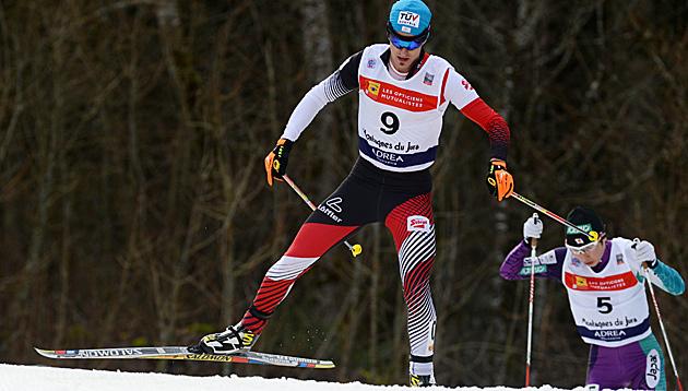 Klapfer beim Weltcup in Chaux-Neuve Sechster (Bild: APA/EPA/PATRICK SEEGER)