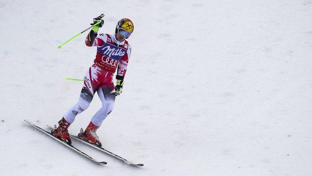 Super Marcel! Fünfter Adelboden-Sieg für Hirscher (Bild: APA/EPA/Peter Schneider)