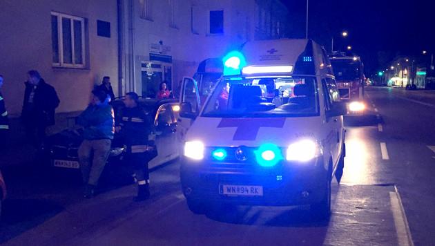 Fünf Verletzte durch CO-Vergiftung in Wr. Neustadt (Bild: APA/PRESSETEAM FEUERWEHR WR NEUSTADT)