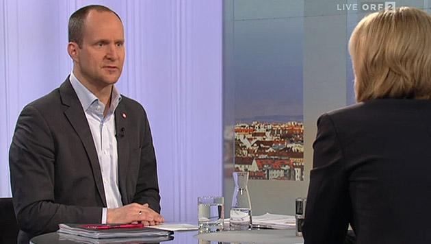NEOS für 8,4 Milliarden Euro Entlastungsvolumen (Bild: tvthek.orf.at)