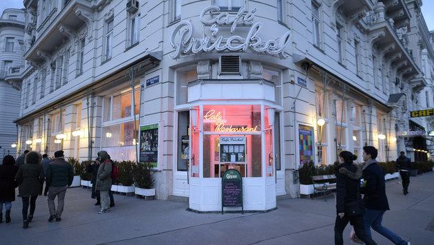 Das Wiener Kaffeehaus Prückel am Stubenring (Bild: APA/HERBERT NEUBAUER)