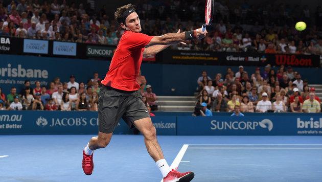 "Roger Federer knackt ""1000er"" mit 83. Turniersieg (Bild: APA/EPA/DAVE HUNT)"