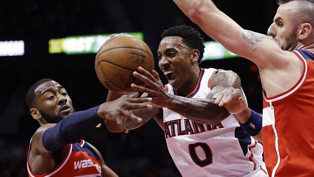 Atlanta Hawks setzen Siegsserie in der NBA fort (Bild: AP)