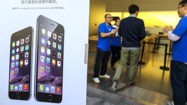 Chinesische Diebe gruben sich in iPhone-Lager (Bild: APA/EPA/DIEGO AZUBEL)
